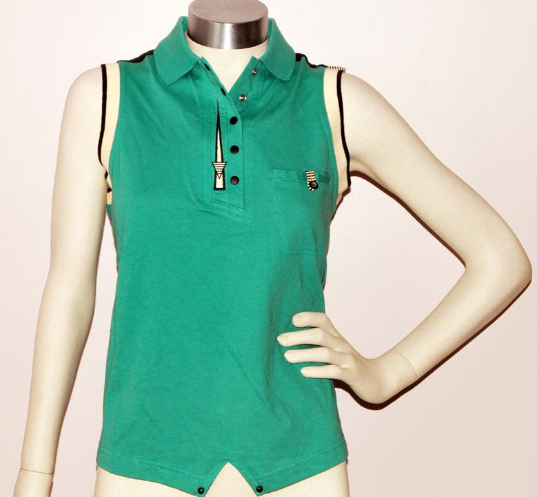 Jamie Sadock SLEEVELESS POLO