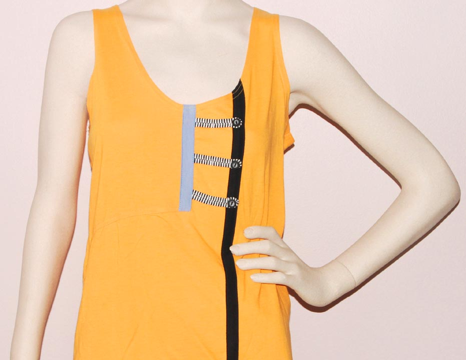 Jamie Sadock SLEEVELESS SCOOP-NECK