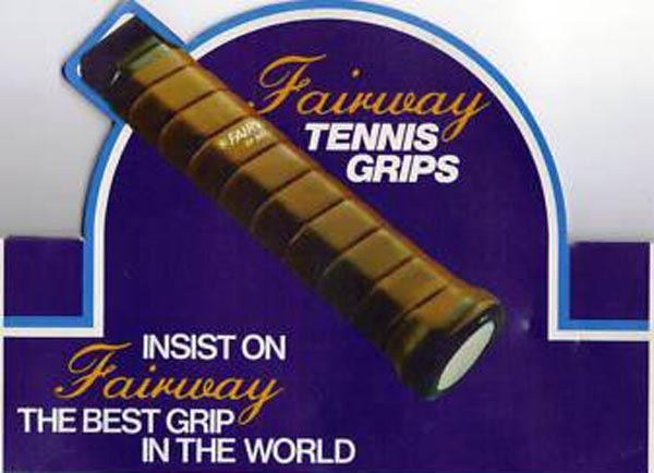 Fairway Leather Tennis Grips by E.B. Balmforth of England